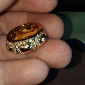 Valente 18kt Gold and Diamonds Ring 8 Final Sale